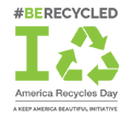 #BeRecycled Logo