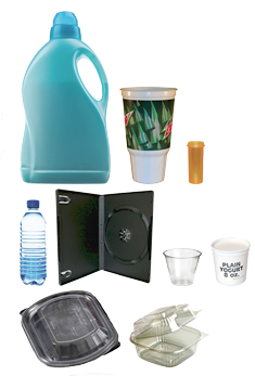 Photo of plastic recyclables