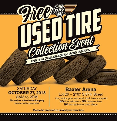 Free Used Tire Recycling Event