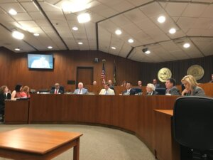 City Council Deliberating